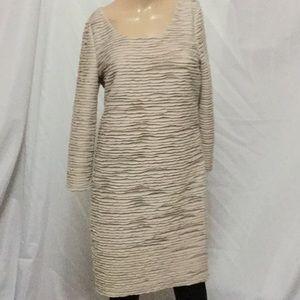 Gianni Bini cream sweater dress